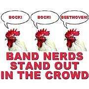 band nerds stand out in the crowd