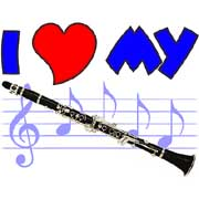 i love my clarinet