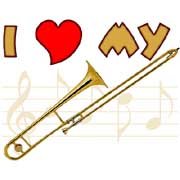 i love my slide trombone