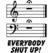 musical everybody shut up