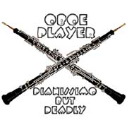 oboe player - pianissimo but deadly