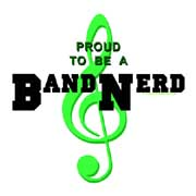 proud to be a band nerd