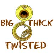 sousaphone big thick twisted