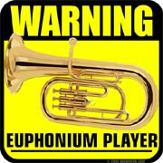 warning euphonium player