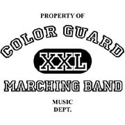 xxl property of colorguard